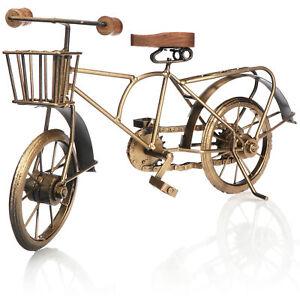 Dekoartikel Fahrrad - Fahrrad-Modell - Sammlerfahrzeug Vintage aus Metall