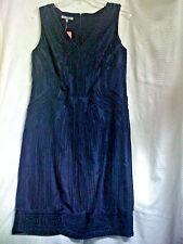 NWT ANNE KLEIN INDIGO BLUE DRESS Size 4