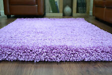 Plain Soft X-Extra Large Small Thick Pile 5 CM Modern Size Shaggy Non-shed Rug