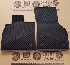 Audi TT 3 8S original Fußmatten Gummimatten TTS vorne Gummifußmatten rubber mats