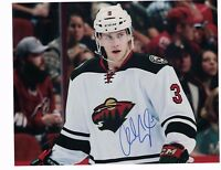 """Charlie Coyle Minnesota Wild Autographed 8"""" x 10"""" Photo W/COA D"""