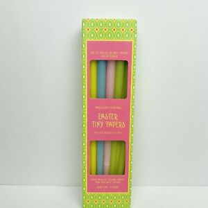 Williams Sonoma Easter Tiny Taper Candles Set of 9