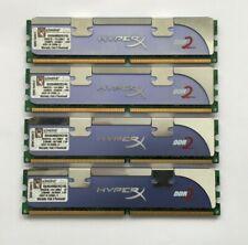 8GB (4 X 2GB) KINGSTON HYPERX DDR2-800 (PC2-6400) DESKTOP PC RAM