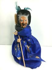 More details for vintage artesania nazaret baiona spain laughing witch halloween prop