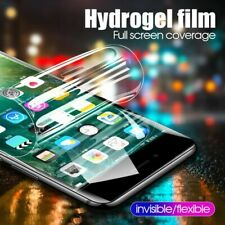 For iPhone X, XS, XR,11 Pro Max Plus Full Screen Protector Soft Hydrogel Film