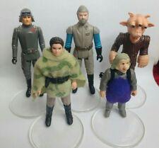 More details for vintage star wars figures job lot bundle x5 leia ugnaught madine atat ree yees