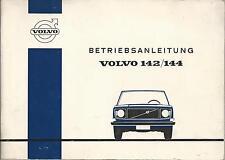 VOLVO 142 144 Betriebsanleitung 1970 Bedienungsanleitung Handbuch Bordbuch  BA