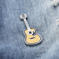 ITS- Unisex Guitar Enamel Badge Brooch Pin Clothes Scarf Dress Jewelry Decor Int