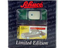 Schuco 01242 Piccolo Mercedes Mb 220 SE W 111 police Aileron arrière neuf dans sa boîte 1412-19-79