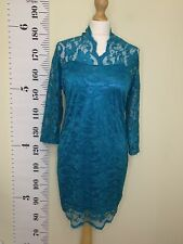 Womens Lace Applique Party Dress Size XL