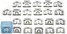 1970-74 GM F Body Rear Window Molding Clip Kit - 22 Pieces - New
