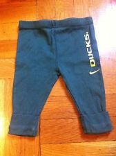 Ducks 6-9 month pants Nike football NCAA University of Oregon green yellow