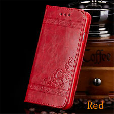Fashion PU Leather Card Stand Wallet Flip Case Cover For Samsung S8 S9 Note 8 S7