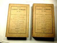 Universal History, by Alexander Tytler, 1840, V & VI of 6 Volumes, #15232