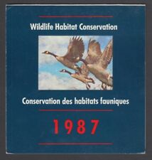 FEDERAL WILDLIFE 1987 MNH SIGNED FWH3d CANADA GEESE BY GEORGE McLEAN