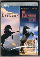 The Black Stallion & The Black Stallion Returns DVD 2 DISC DOUBLE HORSE FEATURE