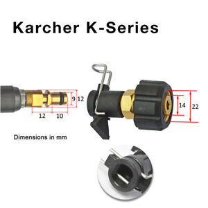Blitz Detailing M22 Quick Connect Fitting Adapter Converter Karcher K