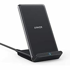 Anker Wireless Charger PowerWave Stand Qi-Certified for iPhone 11 Pro Galaxy S10