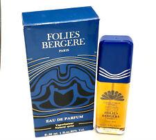Folies Bergere Paris for Women Eau de Parfum Spray 1.0 oz - Rare in Box