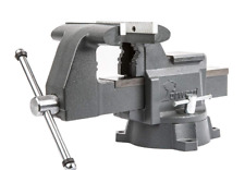 """Forward Cr60A 6.5-Inch Bench Vise Swivel Base Heavy Duty with Anvil (6 1/2"""")"""