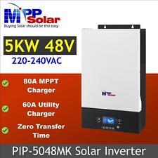 (MK) 5000w 48v Solar power inverter 80A mppt charger bluetooth monitoring