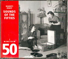 READERS DIGEST 3-CD SET ~ SOUNDS OF THE FIFTIES ~ 1950 ~ RARE!