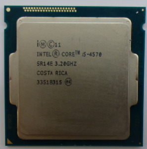 CPU PROCESSORE INTEL QUAD CORE i5-4570 (6M Cache, 3.20 UP 3.60 GHz) LGA 1150