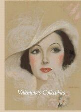 Victorian Lady Counted Cross Stitch COMPLETE KIT No. 1-331