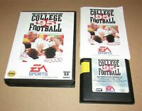 Bill Walsh College Football 95 for Sega Genesis Complete Fast Shipping