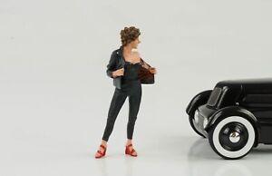 50s 50er Style Woman Girl Figurine Carmen 1:18 American Diorama II No Car