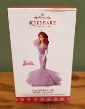 Hallmark Barbie Ornament Lavender Luxe