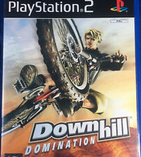 Downhill Domination PS2 Pal Mountian Bike Downhill Sport Game - No Manual