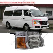 d64ea09290e384 RIGHT FACELIFT VAN Crystal Headlight for NISSAN LHD Caravan Urvan E25 MK4  05-12