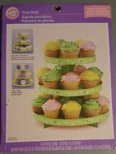 "Wilton Green 3 Tier Cardboard Treat Stand - 12 x 10.5"" - Holds 24 Cupcakes"