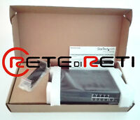 € 142+IVA StarTech IES101002SFP L2 Managed Switch 8x GbE 2x SFP NEW