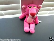 Rare Plush Doll Figure 1996 United Artist Pink Panther Beanbag Collectible Toy