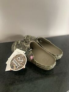 Women's Freesail Crocs Sandals Realtree Max-5 Camo NWT NEW 202347-260