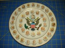 1977 PAST UNITED STATES PRESIDENT PLATE EXCELLENT CONDITION