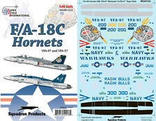 F/A-18 C Hornet: VFA-97, VFA-37 (1/48 decals, Superscale 481225)