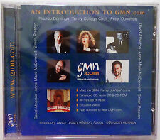 An Introduction To GMN.com (Bach, Debussy, Reubke, Rowlands, Stravinsky) CD 1999