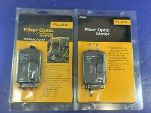 New Fluke FOS FOM 850/1300 Fiber Optic Meter / Source