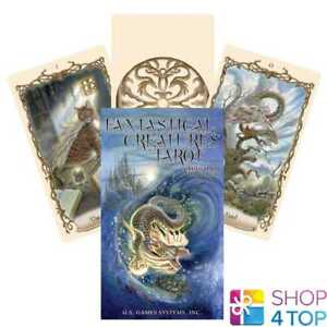 FANTASTICAL CREATURES TAROT DECK CARDS ESOTERIC TELLING US GAMES SYSTEMS NEW