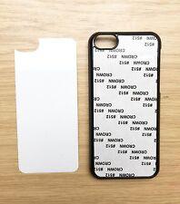 Noir Sublimation étui Pour Apple iPhone 5 C-Incl Insert Alum Panel