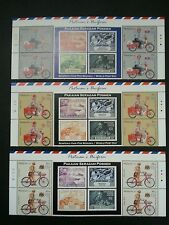 Postman's Uniform  Malaysia 2012 Bicycle Motorcycle Postal (stamp with title MNH