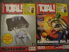 2x  Total Videogame Magazin retro  Nintendo 64 1996 1995
