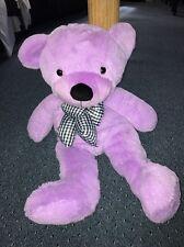 Purple Stuffed Teddy Bear