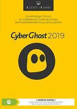 CyberGhost 7 2019 - VPN * Premium 1 Jahr * Vollversion Lizenz * anonym surfen