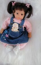 "Adora Baby Doll 16"" Brown hair and brown eyes with box."