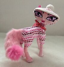 "Bratz Petz 10"" Pink Cat with Hearts Posable Plush Stuffed Animal"