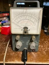 Vintage Heathkit Vacuum Tube Voltmeter V 7a With Probes Untested As Is Parts